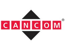 Das Logo von der Cancom. Die Cancom SE ist ein deutsches Unternehmen für IT-Dienstleistungen mit Fokussierung auf den Bereich Cloud-Computing. Ein Kunde von Userfriend Usability Agentur, auf userfriend.de