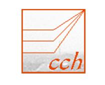 Das Logo von cch, einer Website-Plattform für Mediziner Test Trainings. Ein Kunde von Userfriend Usability Agentur, auf userfriend.de