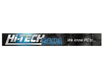 Das Logo von Hi-Tech. Ein PC und Game-Shop aus Österreich. Hier Game-Fokus-Ein Kunde im Relaunch von Userfriend Usability Agentur, auf userfriend.de