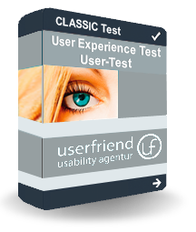 Classic-UX-User Experience Test-userfriend.de