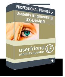 Professional-UX-Design Prozess-userfriend.de
