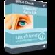 """Ein virtuelles Userfriend Produkt-Paket, mit der Aufschrift """"Quick Check, Usability Agile UX und dem Logo"""" als Symbol für schnelle Entscheidungshilfen in agiler Entwicklung, von Userfriend Usability Agentur, auf userfriend.de"""