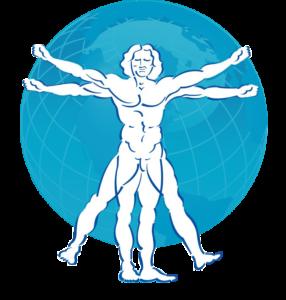 """Der vitruvianische Mensch, als Zeichnung von Leonardo da Vinci, als Symbol """"der Mensch im Zentrum der Aufmerksamkeit"""" und Philosophie von Userfriend Usability Agentur, auf userfriend.de"""