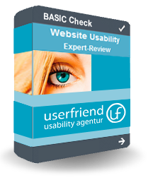 Basic-Check Experten-Usability-Analyse-userfriend.de